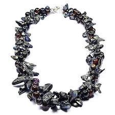 Halskette mit Achat Edelsteine