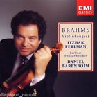 Brahms: Violinkonzert (Concerto Per Violino) / Perlman, Barenboim - CD Emi