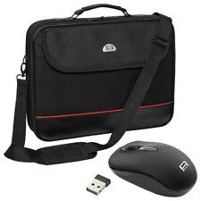 NOTEBOOK Laptop TASCHE 14 - 15,6 Zoll (39,6cm) NOTEBOOKTASCHE + schnurlose Maus