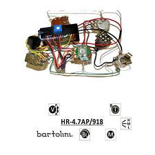 Bartolini HR-4.7AP Pre-Wired 3 Band EQ Active/Passive Preamp