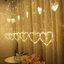 Indoor Heart-Shaped Lights Led Christmas Fairy String Decoration Bead 1Pcs 220V