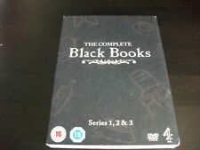 Black Books - The Complete Box Set  DVD Dylan Moran, Bill Bailey, Tamsin Greig,