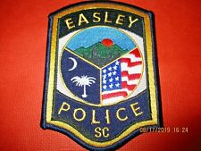 Collectible South Carolina Police Patch,Easley,New