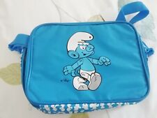 Vintage Smurf Insulated Packed Lunch Bag
