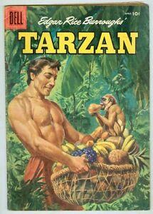 Tarzan #79 April 1956 VG