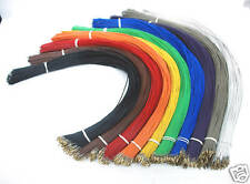 200pc Dupont Connector 2.54mm Female Pin & Wire L=45cm 24AWG 300V 20pcx10color