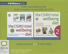 NEW The CSIRO Total Wellbeing Diet: Audio Companion to Australia's #1 Diet Book