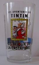 Verre à moutarde TINTIN Hergé 1994 Long Drink. Les bijoux de la castafiore.VM530