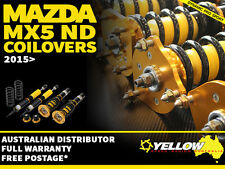 YELLOW-SPEED RACING COILOVERS Mazda MX5 ND 2015> yellowspeed coil over roadster