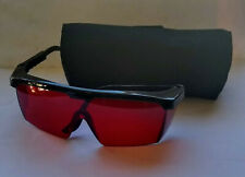NEW / NEVER USED Laser Safety Glasses with Soft Case