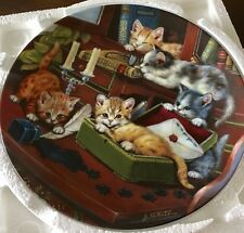 Litter Rascals {Collectible Plate- The Bradford Exchange} Study Break 1998