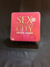 Sex and the City Trivia Game HBO TV Series Show Board Game New in Sealed Tin Box