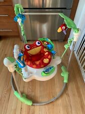 Fisher-Price Rainforest Jumperoo Baby Activity Jumper K6070-999A