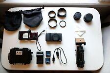 Ricoh Gr 16.2Mp Digital Camera - Black w/ Lots of Accessories!