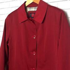 Gallery Ladies Red Rain Jacket Size XL