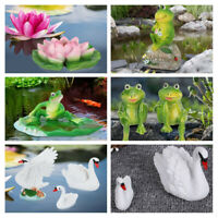 Outdoor Garden Pool Resin Simulated Decor Statue Ornaments Yard Decorations Art