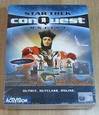 STAR TREK - CONQUEST - ONLINE - Pc - 2000 Activision - NUOVO - SEALED - ESPA 3+