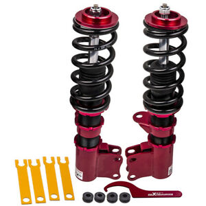 Adjustable Front Coilover Lowering Kit For Holden Commodore VT VX VY VZ 97-06