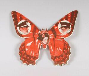 "FLYER ""Mme BUTTERFLY""-1932-en forme de papillon-RARE-18 X 15 cm -TBE-Paramount"