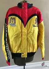 BILL ELLIOTT, McDonald's, Lined nylon shell and fill jacket, Brand New, XL
