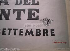 PUGLIA_BARI_FIERA DEL LEVANTE_GRANDE PUBBLICITARIA D'EPOCA_ENIT_STAMPERIA FAVIA