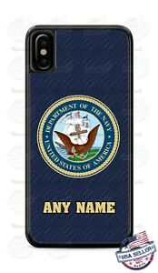 Customized US Navy Military Logo Design Phone Case For iPhone Samsung LG Google