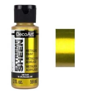 DecoArt Extreme Sheen Paint 2oz - 24k Gold