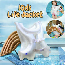 Kids Swimming Vest Inflatable Baby Float Floating Swim Angel Wings Life Jacket