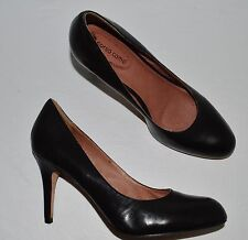 CORSO COMO SZ 10 M BLACK LEATHER PUMPS HEELS DRESS SHOES