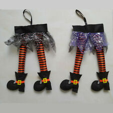 Prank Prop Halloween Wicked Witch Legs With Shoes Hanging Hag Party Decoration