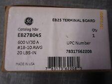 GE EB27B04S Terminal Block