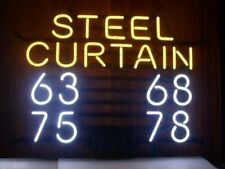"""Green Bay Packers Steel Curtain Neon Sign 20""""x16"""" Beer Light Lamp Bar Display"""