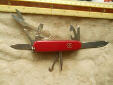 Victorinox Explorer Swiss Army knives in red -  new glass, hook and pin - BSA