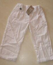 Pantalon blanc neuf taille 36 mois marque Grain de Blé étiqueté à 19,99€
