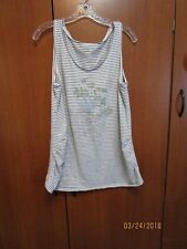 Motherhood Striped Tank Size XL Maternity Bust 42 44 Length 28 inches