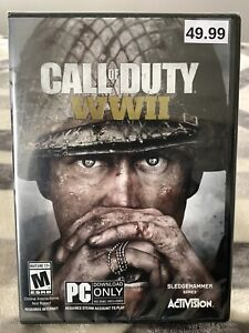 Call of Duty: WWII (PC, 2017) Activision Sledgehammer Games - Brand New Sealed