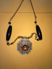 New Women Rhinestone Chain Crystal Necklace Pendant Lady's Fashion Jewelry