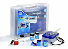 Revell 39199 Airbrush Basic Set mit Kompressor und Zubehör Komplett-Set Neu
