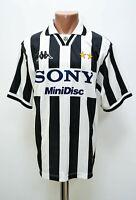 JUVENTUS ITALY 1996/1997 HOME FOOTBALL SHIRT JERSEY KAPPA BASIC SIZE L ADULT