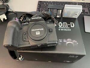 Olympus OM-D E-M1 Mark II MK2 Black Mirrorless Digital Camera Body - Boxed