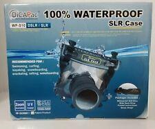 DiCAPac 100% Waterproof SLR/DSLR Case WP-S10 * JIS IPX8 Underwater Housing *NEW*