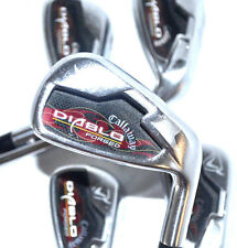 Callaway Diablo Forged Irons (6-PW) Set Stiff Precision Project X 5.5 Steel +1""