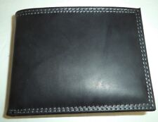 Buxton Secure Shield Genuine Leather Billfold Wallet, Black