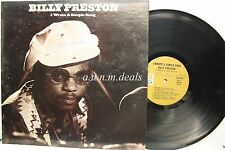 "Billy Preston - I Wrote a Simple Song -  A&M Records  LP 12"" (VG)"