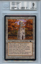 MTG Antiquities Urza's Tower BGS 9.0 (9) Mint Forest Magic WOTC 7747