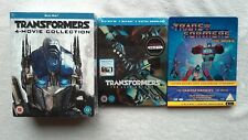 Transformers COMPLETE LIMITED EDITION BLU RAY STEELBOOK COLLECTION NEW RARE RB
