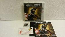 Jeu Vidéo Nintendo 3DS/2DS Captain America Super Soldat VF SEGA Marvel Comics