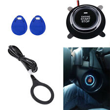 Car Alarm Start Stop Engine Push Button RFID Lock Ignition Keyless Entry System