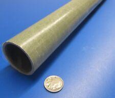 """Fiberglass Round Tube, Olive Green, 1.75"""" OD X 1.50"""" ID x 60"""""""
