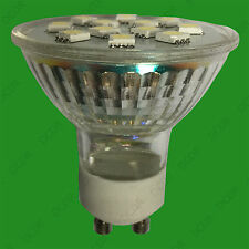 4x 3W GU10 Epistar SMD 5050 LED Spot Light Bulbs 2700K Warm White Lamps